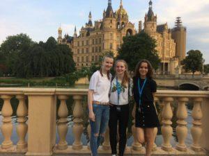 Sie haben sich der Jury gestellt: Louisa, Elisa und Julia